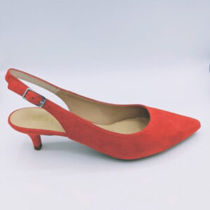 Coral slingback