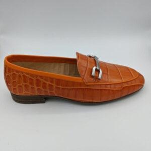 Orange loafer