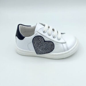 White&blue sneaker